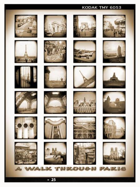 Arc Wall Art - Photograph - A Walk Through Paris by Mike McGlothlen
