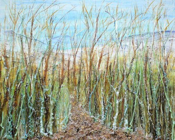Painting - A Walk To The Dunes by Regina Valluzzi