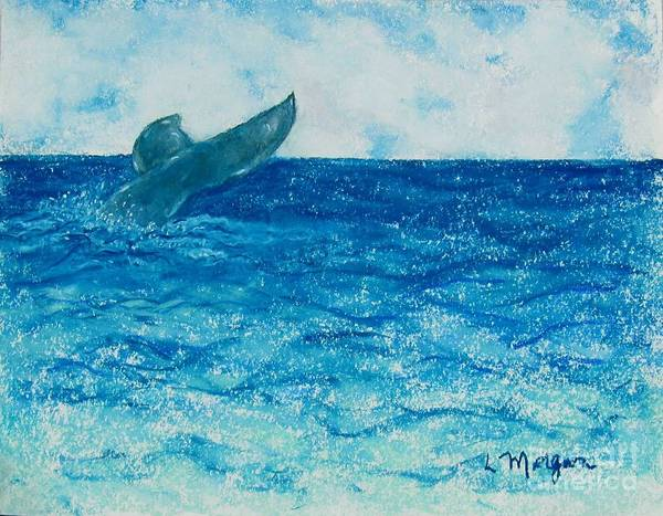 Painting - A Whale Of A Tale by Laurie Morgan