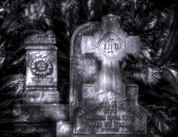 Famous Cemeteries Photograph - A Whisper From The Past by Mark Andrew Thomas