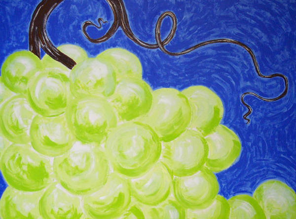 Vino Painting - A Wild Bunch by Kristina Zographos