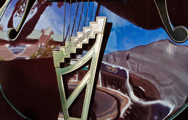 Photograph - A Window Guitars View Of The Street by Gary Slawsky