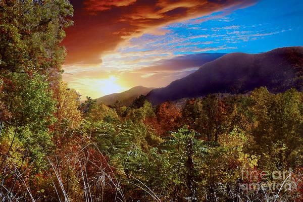Purple Haze Digital Art - A Windsong View by Jeff McJunkin