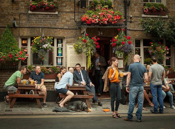Photograph - A Windsor Bar by Brian Grzelewski