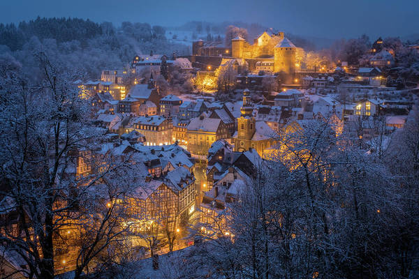 Rooftops Photograph - A Winter Tale by Adrian Popan