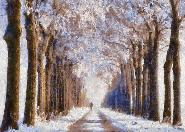 Photograph - A Wintery Walk by Charmaine Zoe