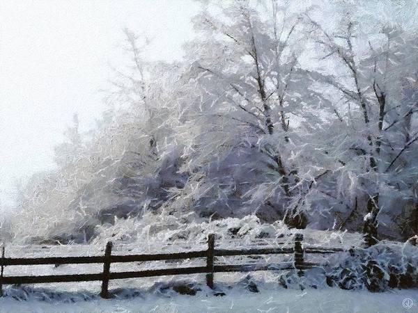 Snow Fence Digital Art - A Wish by Gun Legler