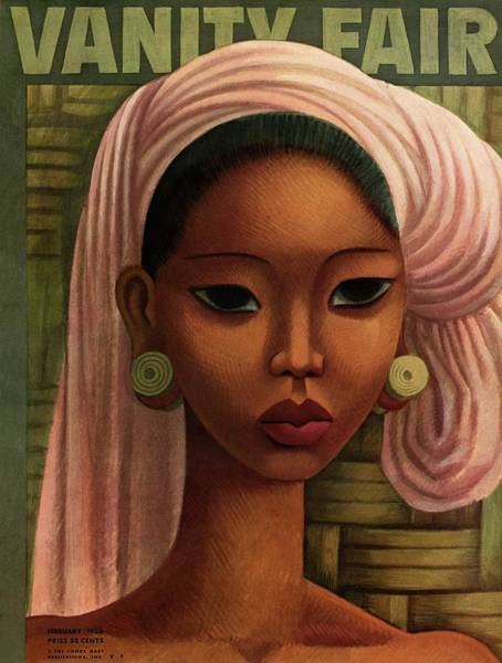 February 1st Photograph - A Woman From Bali by Miguel Covarrubias