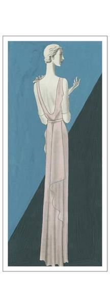 Dressed Up Digital Art - A Woman Wearing A Gown By Mainbocher by Eduardo Garcia Benito
