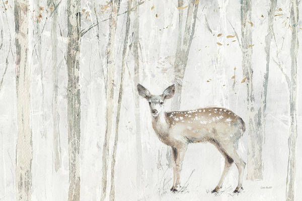 Fawn Painting - A Woodland Walk Vii by Lisa Audit