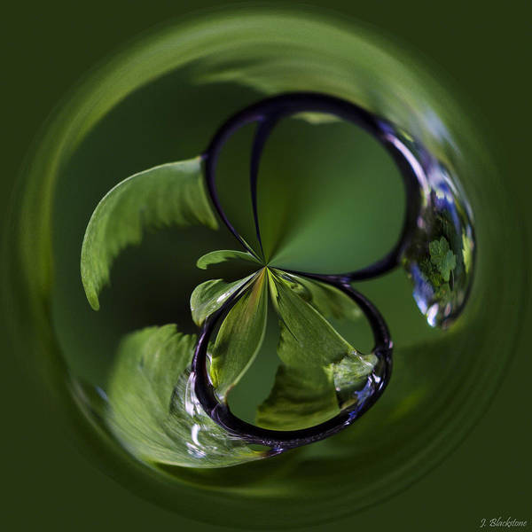 Photograph - A World Within A Drop Of  Rain - Orb Art by Jordan Blackstone