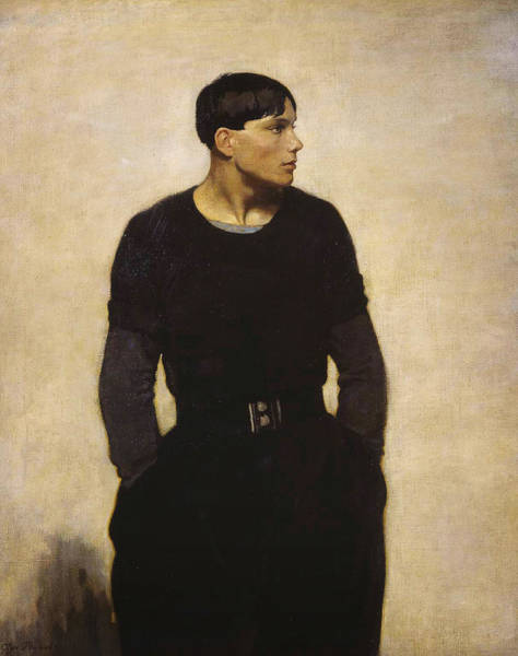 Painting - A Young Breton by Glyn Warren Philpot