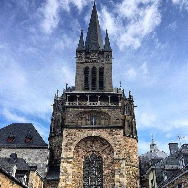 Japan Photograph - #aachen #cathedral (#dom) In #germany by Ryoji Japan