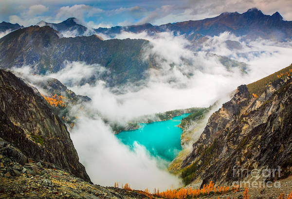 Alpine Lakes Wilderness Photograph - Aasgard Pass by Inge Johnsson
