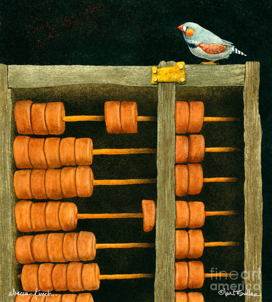 Harper Painting - Abacus Finch... by Will Bullas