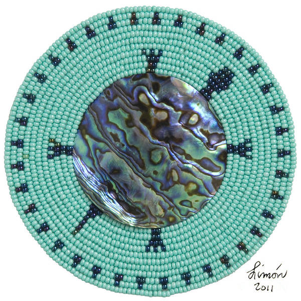 Mixed Media - Abalone Shell by Douglas K Limon