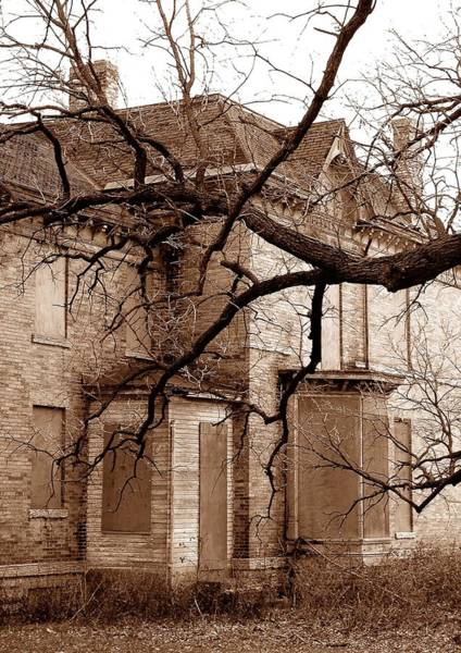 Wall Art - Photograph - Abandoned 19th Century House by Jim Hughes