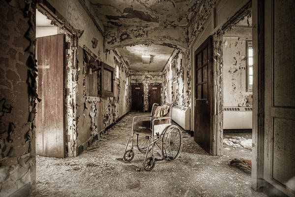 Abandoned Asylums - What Has Become Art Print