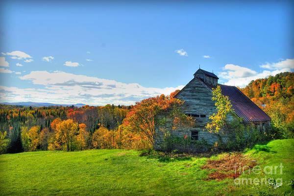 Photograph - Abandoned Barn by Alana Ranney