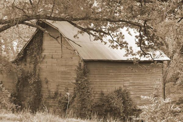 Digital Art - Abandoned Barn by Kirt Tisdale
