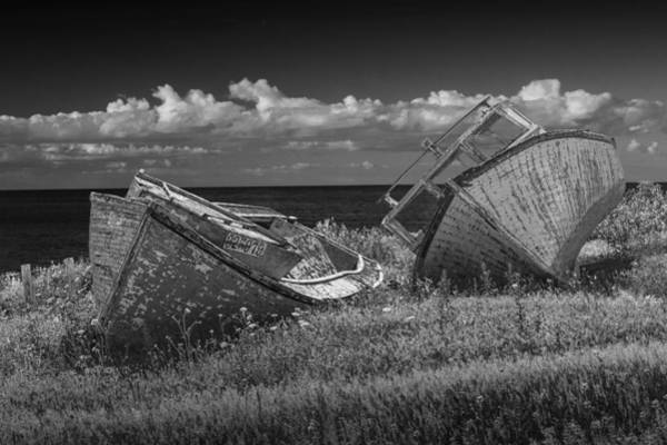 Photograph - Abandoned Boats On Pei by Randall Nyhof