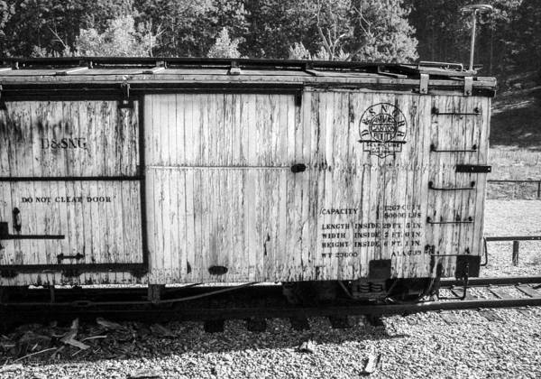 Photograph - Abandoned Boxcar by Ross Henton