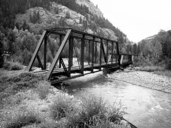Photograph - Abandoned Bridge On The Animas River by Ross Henton