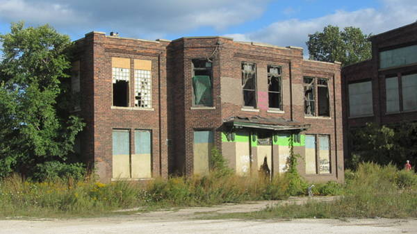 Photograph - Abandoned Building 1 by Anita Burgermeister