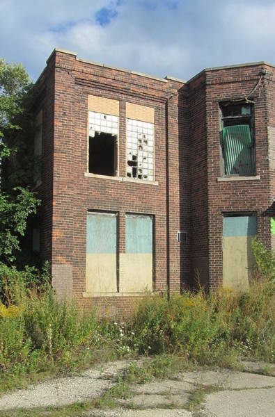 Photograph - Abandoned Building 2 by Anita Burgermeister