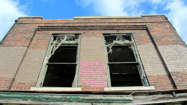 Photograph - Abandoned Building Close Up 2 by Anita Burgermeister