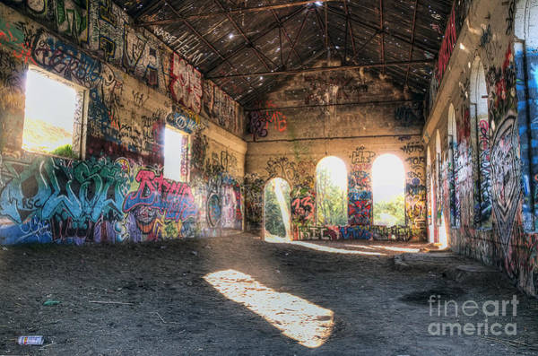 Photograph - Abandoned Building by Eddie Yerkish