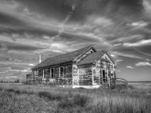 Photograph - Abandoned Church by HW Kateley