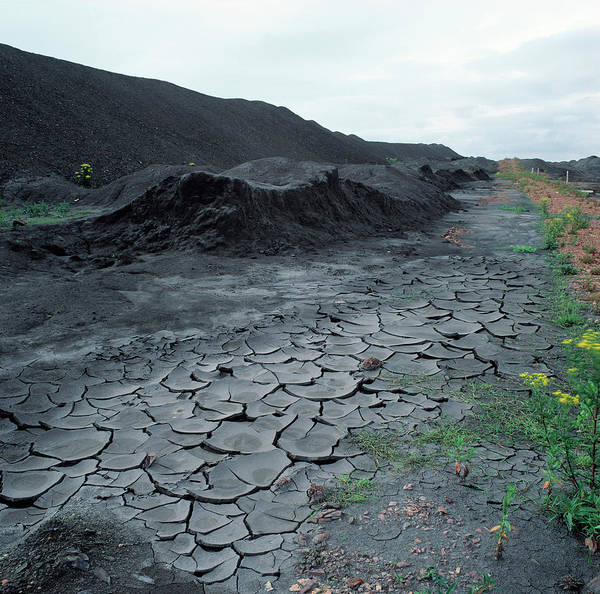 Coal Mining Photograph - Abandoned Coal Mine by Robert Brook/science Photo Library