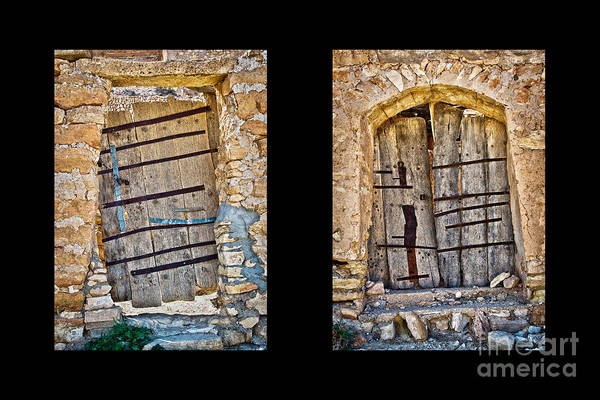 Wall Art - Photograph - Abandoned Diptych by Delphimages Photo Creations