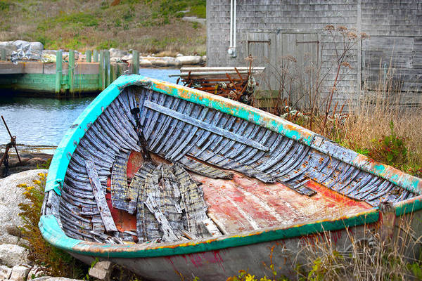 Peggys Cove Photograph - Abandoned by Betsy Knapp