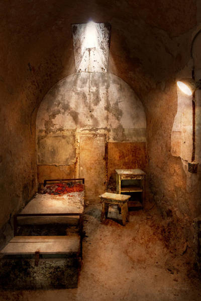 Photograph - Abandoned - Eastern State Penitentiary - Life Sentence by Mike Savad