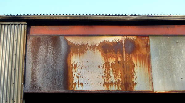 Photograph - Abandoned Factory Roof by Anita Burgermeister