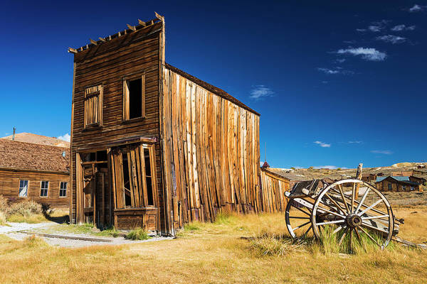 Wall Art - Photograph - Abandoned Ghost Town Building by Russ Bishop