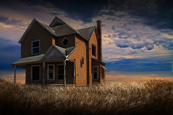 Photograph - Abandoned Homestead by Randall Nyhof