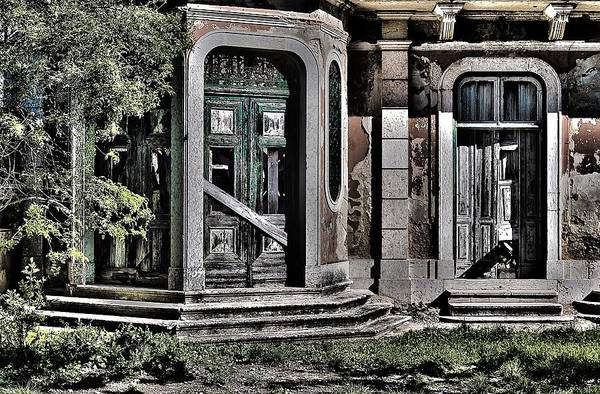 Mud House Photograph - Abandoned House by Marco Oliveira