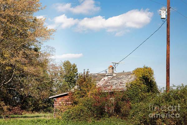 Photograph - Abandoned House On Maryland's Eastern Shore by William Kuta