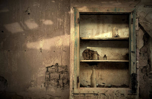 Cabinet Photograph - Abandoned Kitchen Cabinet by RicardMN Photography