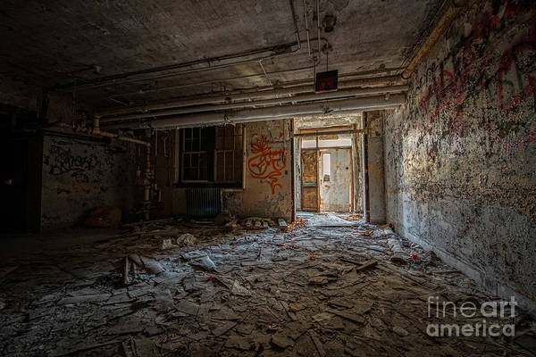 Urban Decay Wall Art - Photograph - Abandoned by Michael Ver Sprill
