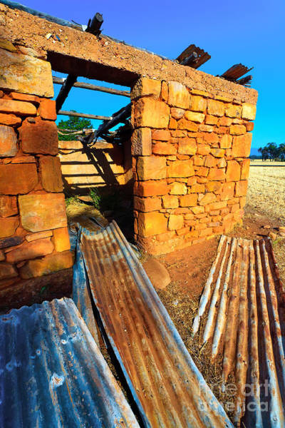 Wall Art - Photograph - Abandoned Mid North Homestead by Bill  Robinson