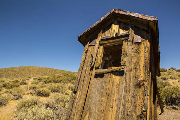Abandoned Outhouse Art Print