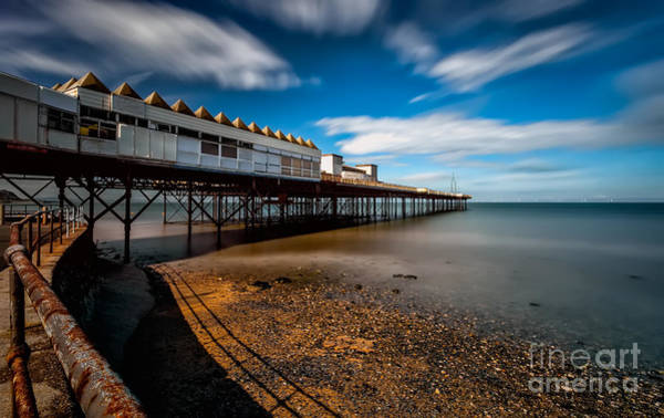 Photograph - Abandoned Pier by Adrian Evans