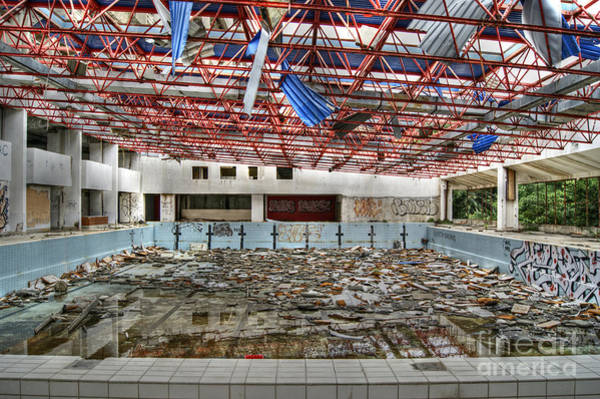 Photograph - Abandoned Places 18 by David Birchall