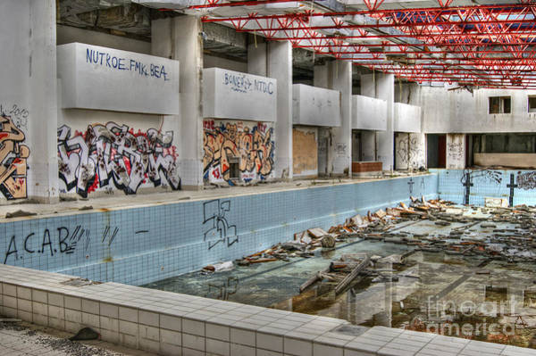 Photograph - Abandoned Places 19 by David Birchall
