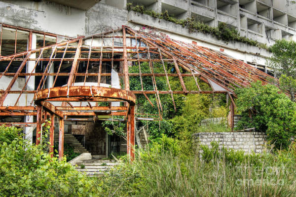 Photograph - Abandoned Places 24 by David Birchall