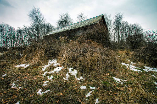 Photograph - Abandoned Places - Old House - House On The Hill by Gary Heller
